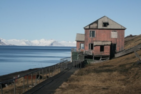 Barentsburg - the Russian town of Svalbard.